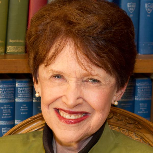 Headshot of Riane Eisler