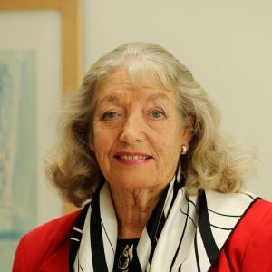 Headshot of Hazel Henderson
